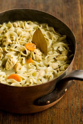 The Lady's Chicken Noodle Soup Recipe