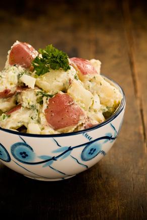 The Lady's Warm Potato Salad Thumbnail