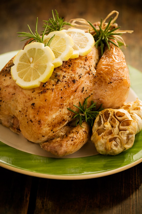Lemon Pepper and Rosemary Roasted Chicken Thumbnail