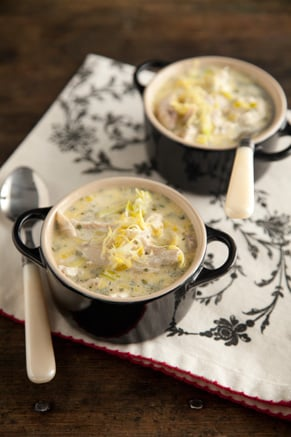 Lemon Tarragon Chicken Soup Recipe