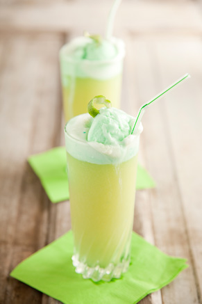 Lime Sherbet Punch Recipe