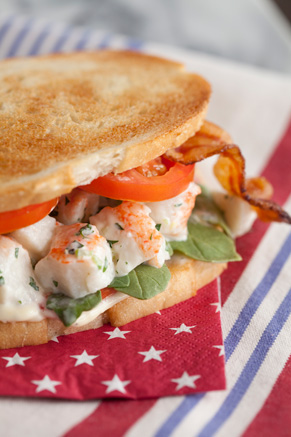 Lobster Club Sandwich Recipe