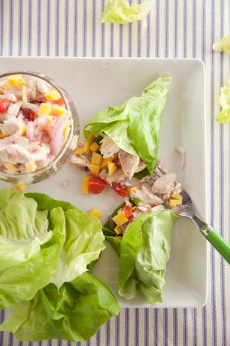 Mahi Mahi Lettuce Wraps Recipe