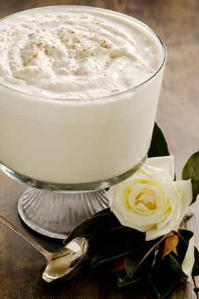 Lighter Eggnog Recipe