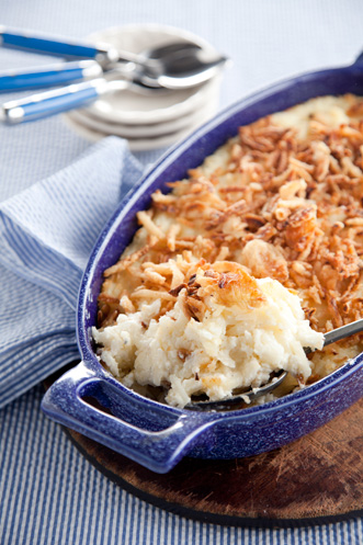Mashed Baked Potatoes, AKA Mashed Potato Casserole Thumbnail