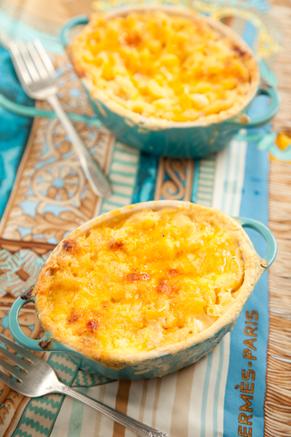Lighter Mini Macaroni Pies Recipe