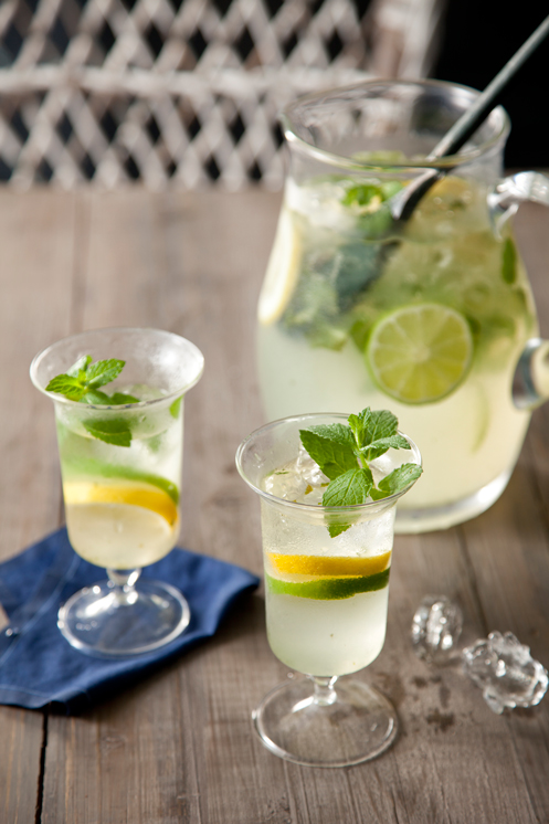 Minted Lemon and Limeade Recipe