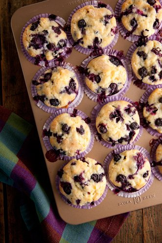 Nana's Blueberry Muffins Recipe