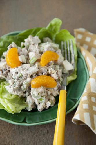 Nutty Orange Chicken Salad Recipe
