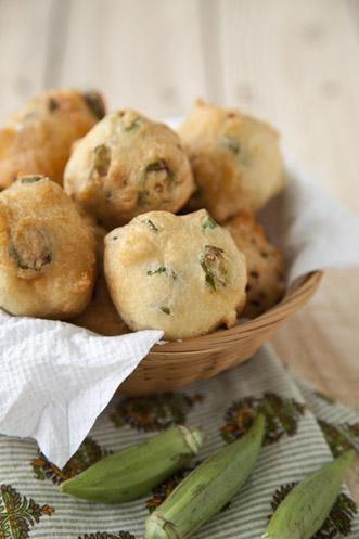 Okra Fritters Recipe