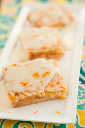 Orange Citrus Bars Recipe