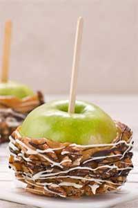 Outrageous Caramel Apples Recipe