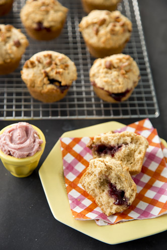 PB & J Muffins Recipe