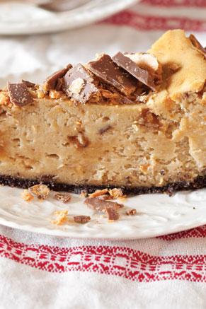 Peanut Butter Candy Cheesecake Recipe