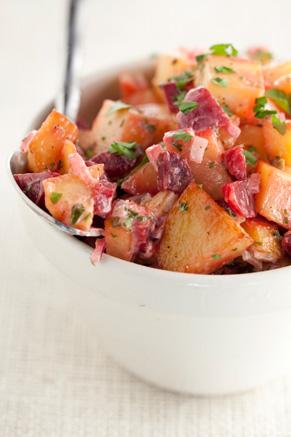 Pink Potato Salad Recipe