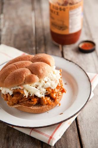 Pulled BBQ Chicken Sandwich Thumbnail