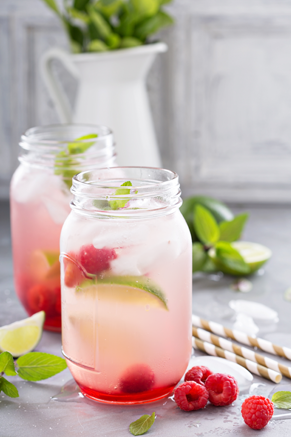 Raspberry Ginger Ale Punch Recipe