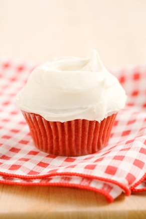 Lighter Red Velvet Cupcakes Recipe