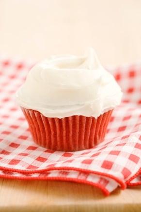 Lighter Red Velvet Cupcakes Recipe