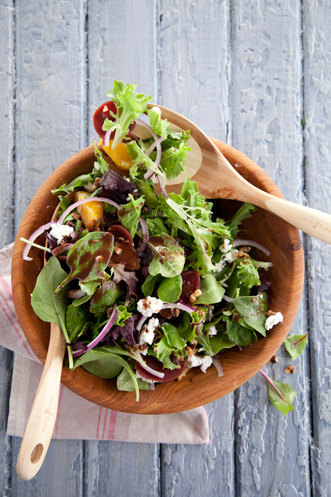 Roasted Beet Salad with Cocoa Vinaigrette Recipe