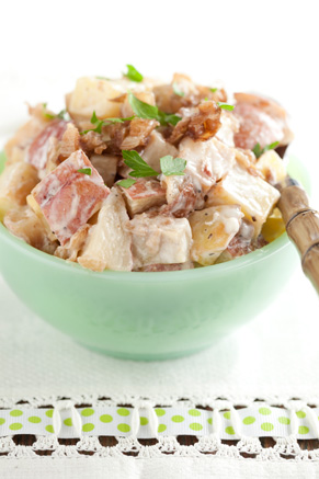 Roasted Potato Salad with Blue Cheese Dressing Thumbnail
