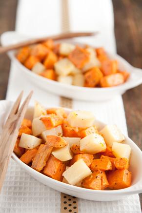 Roasted Sweet Potatoes and White Potatoes Recipe