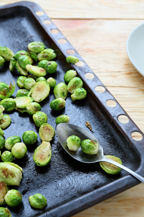 Roasted Brussels Sprouts With Lemon Zest Recipe