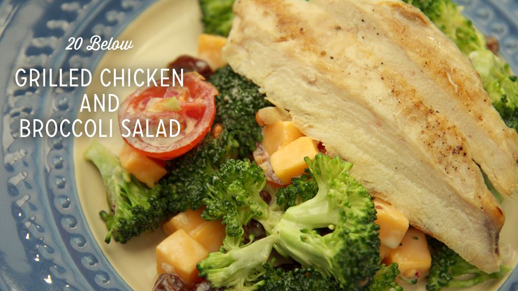 Grilled Chicken and Broccoli Salad Recipe