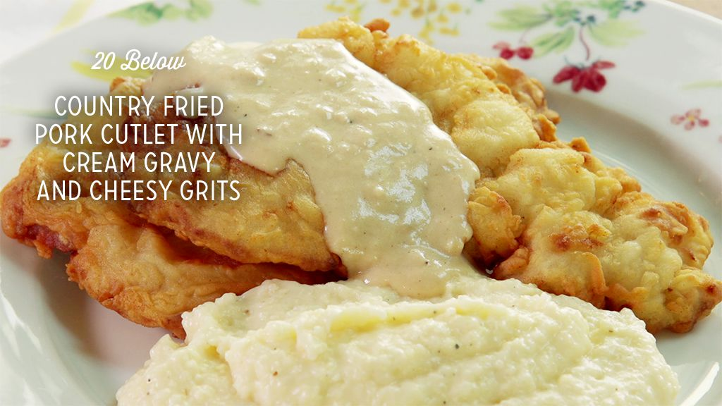Country Fried Pork Cutlet With Cream Gravy Recipe