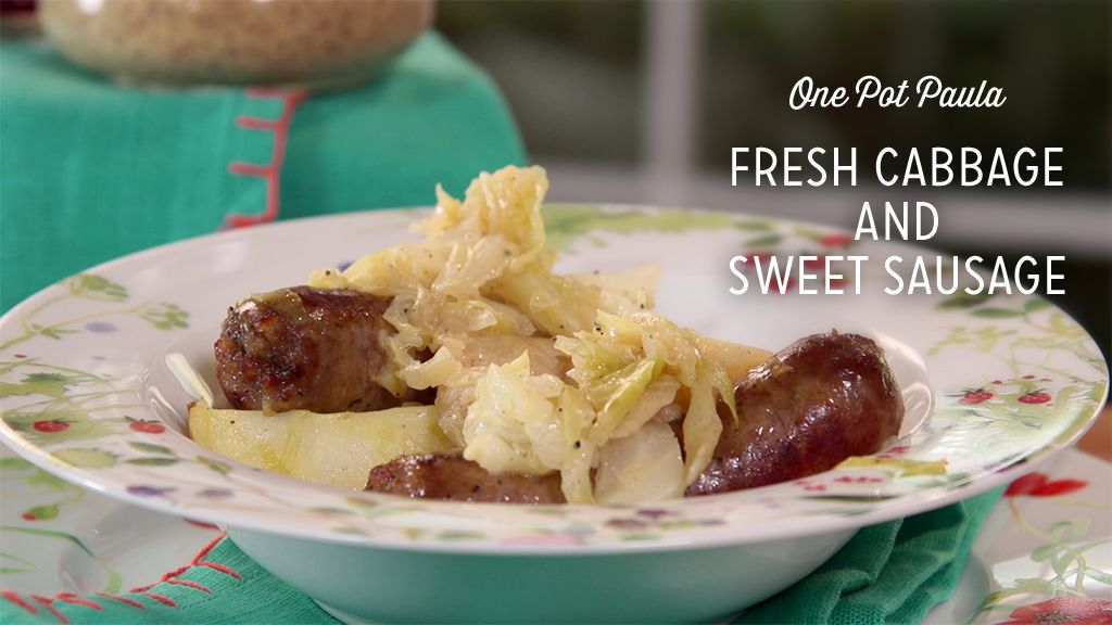 Fresh Cabbage and Sweet Sausage Recipe