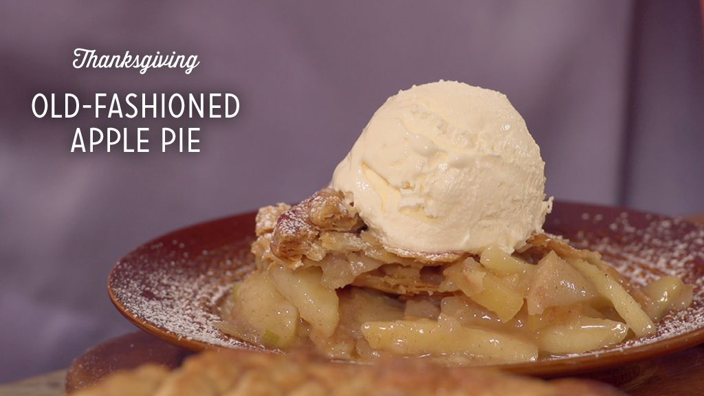 Old-Fashioned Apple Pie Thumbnail