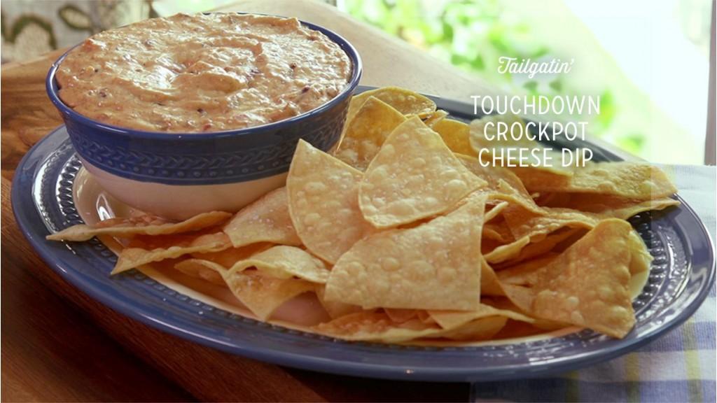 Touchdown Crockpot Cheese Dip Recipe