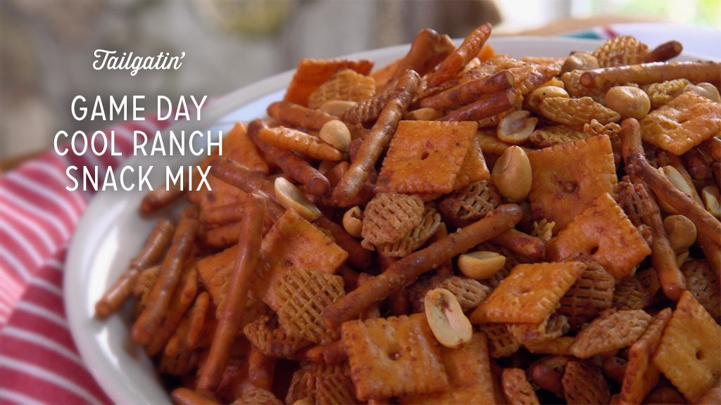 Game Day Cool Ranch Snack Mix Thumbnail