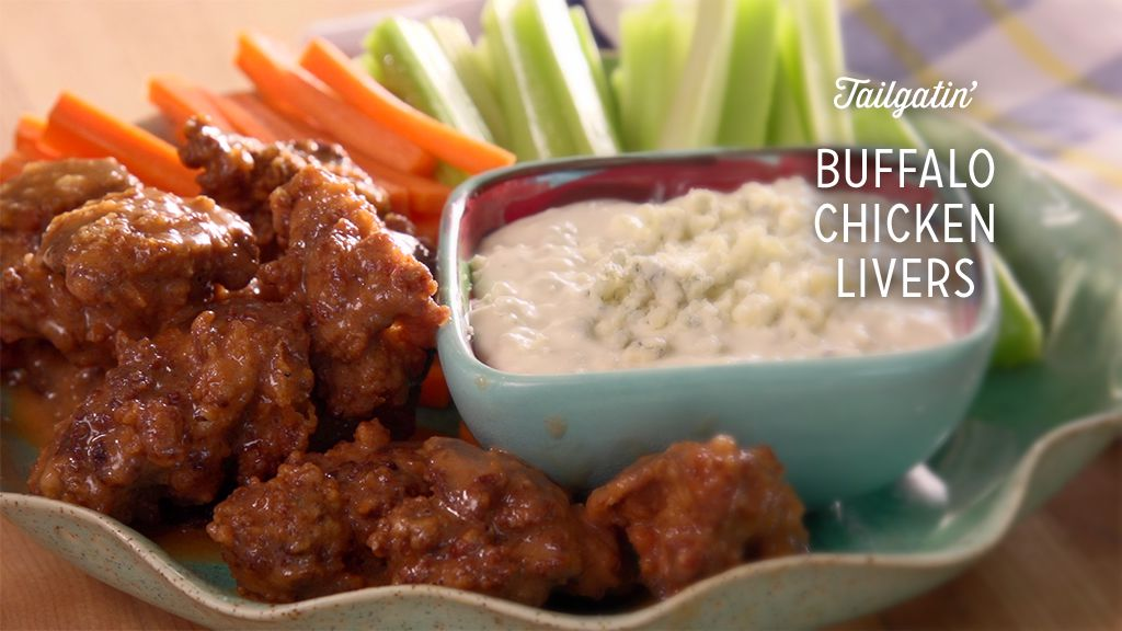 Buffalo Chicken Livers Recipe