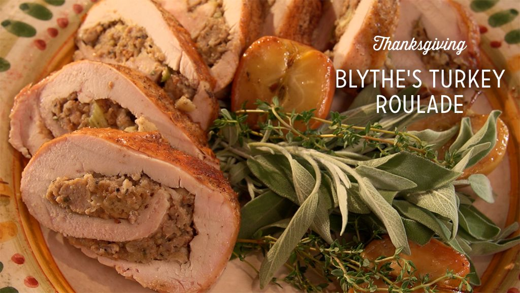 Blythe's Turkey Roulade Recipe