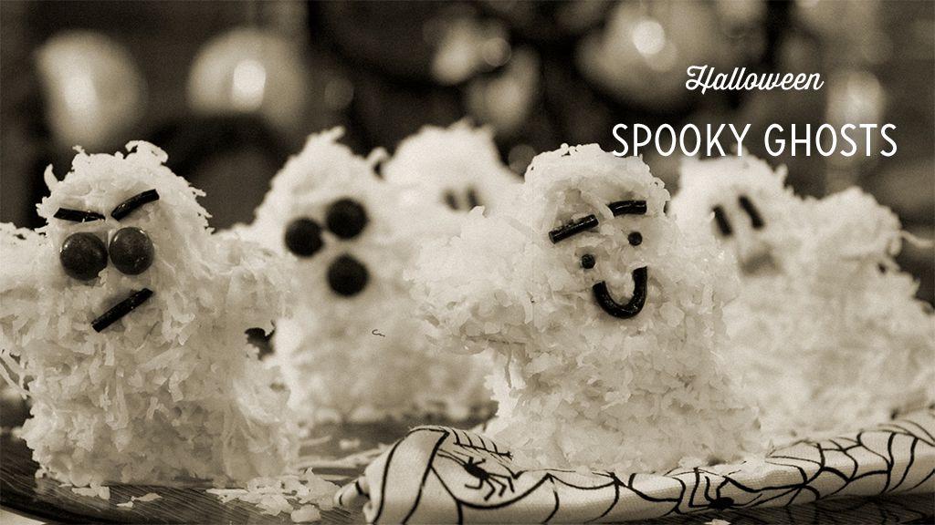 Spooky Ghosts Recipe