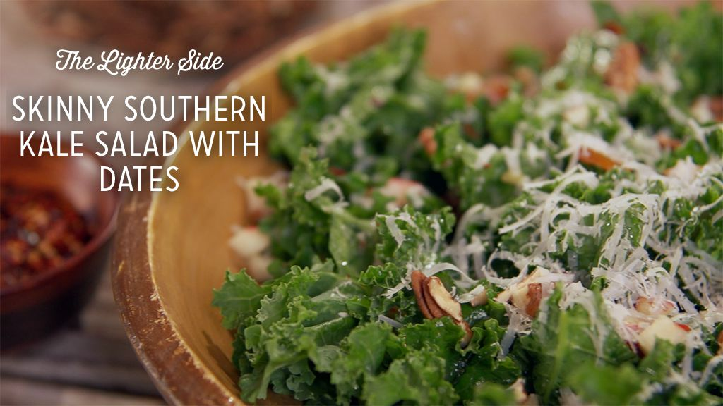 Skinny Southern Kale Salad With Dates Recipe