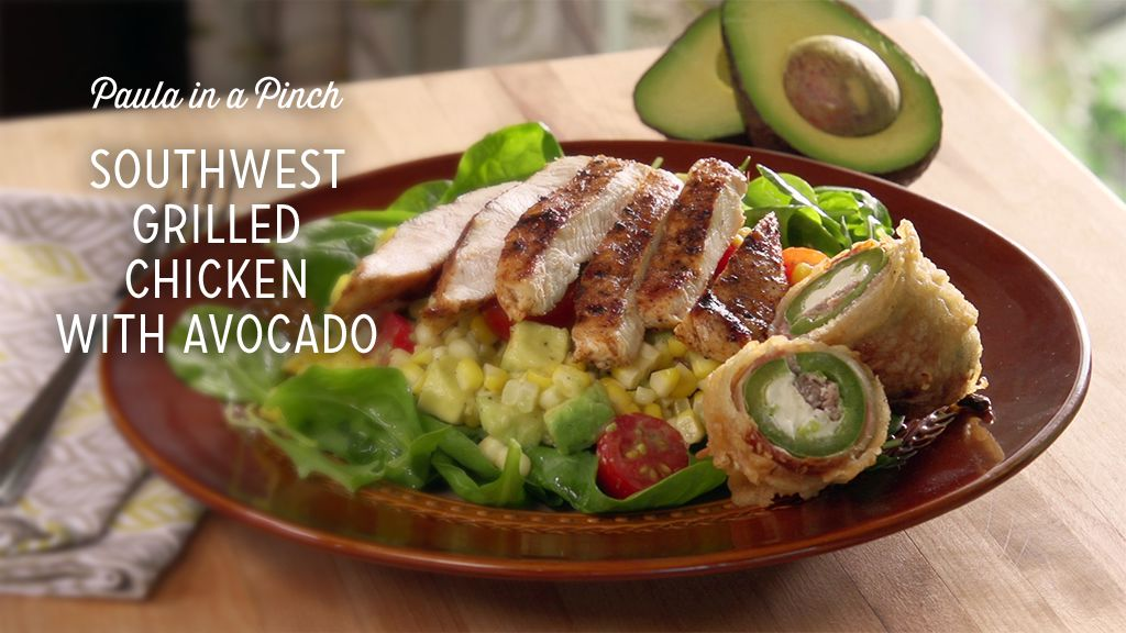 Southwest Grilled Chicken With Avocado Thumbnail
