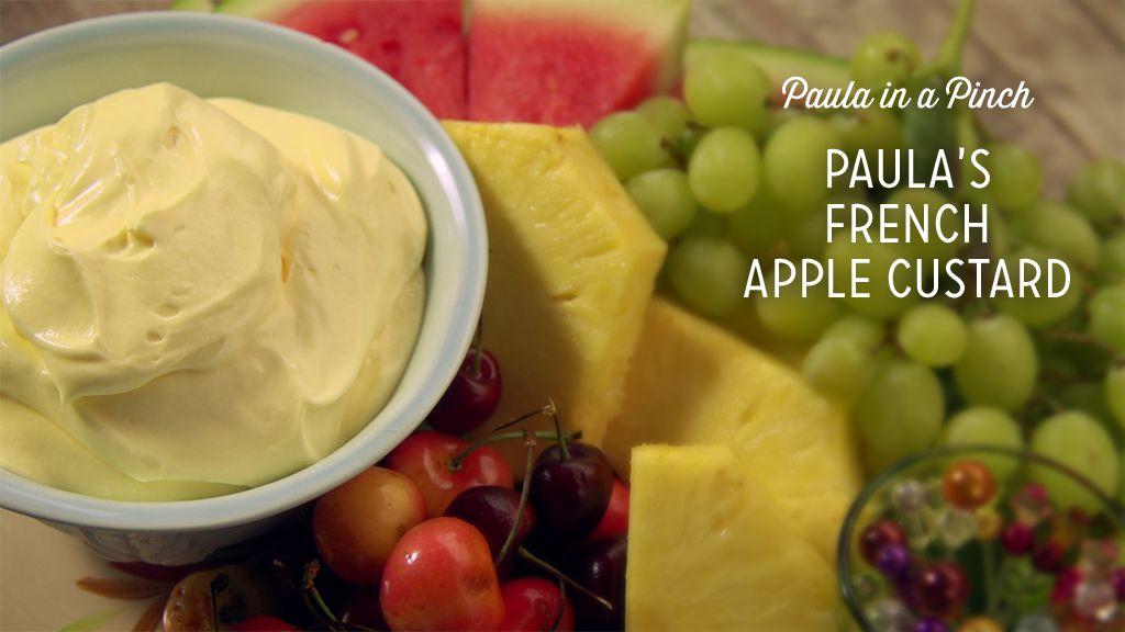 Paula's French Apple Custard Recipe