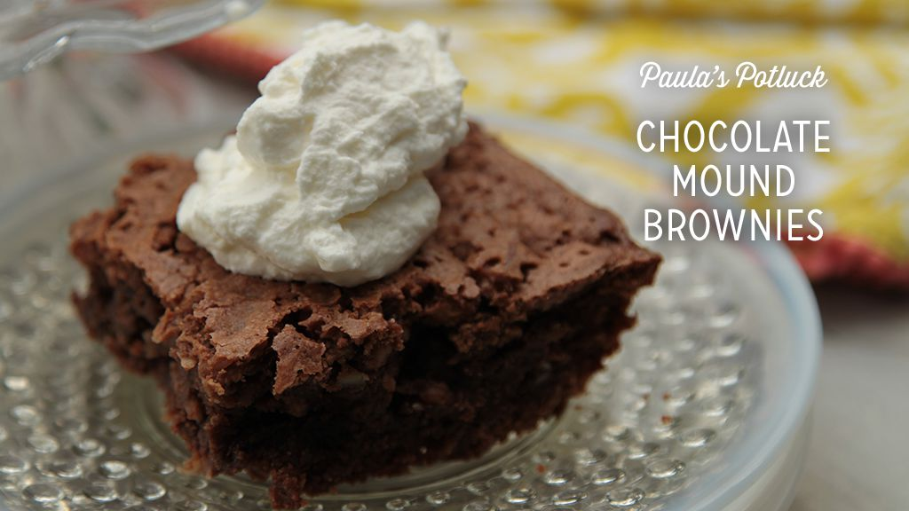 Chocolate Mound Brownies Recipe