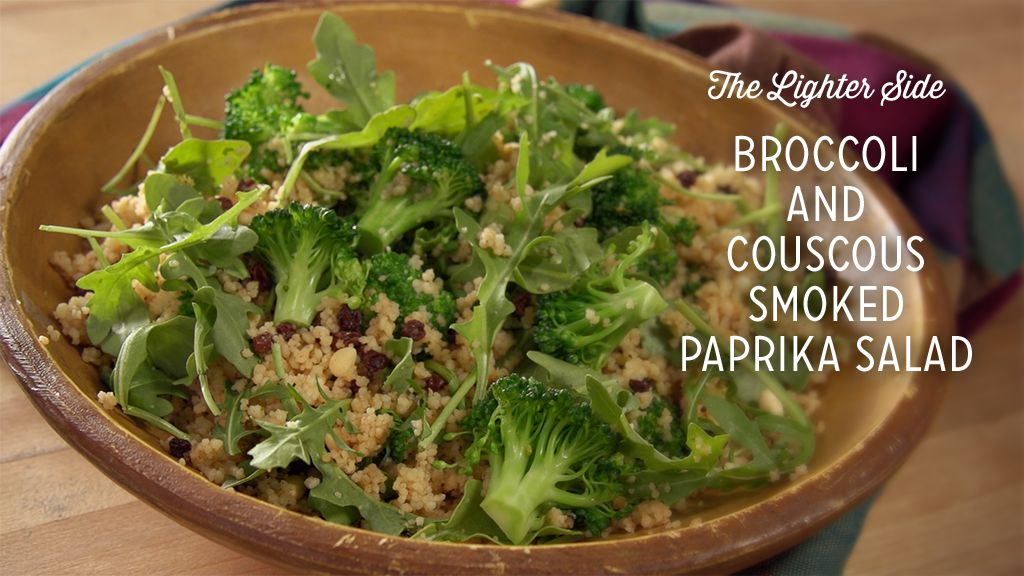 Broccoli and Couscous Smoked Paprika Salad Thumbnail