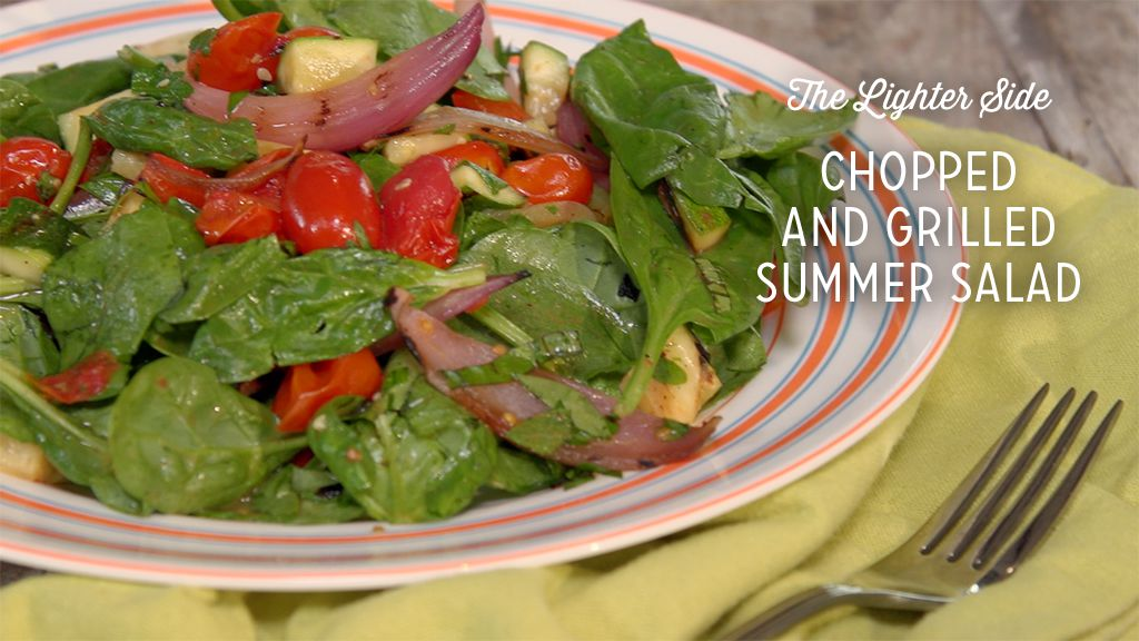 Chopped and Grilled Summer Salad Thumbnail