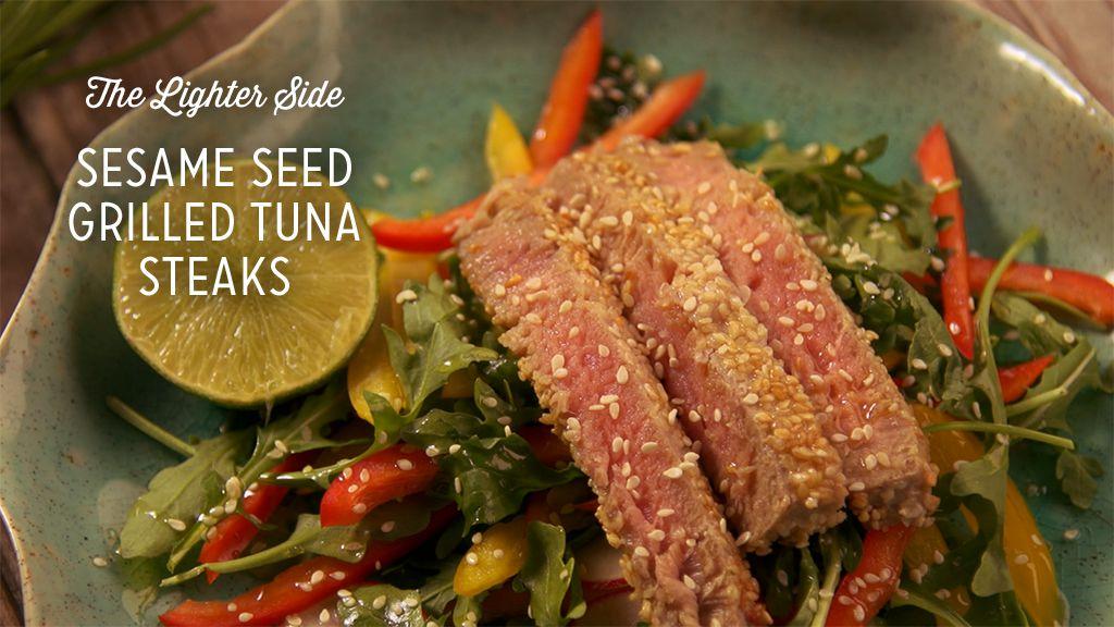 Sesame Seed Grilled Tuna Steaks Thumbnail