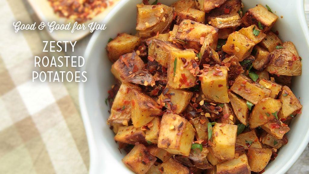 Zesty Roasted Potatoes Thumbnail