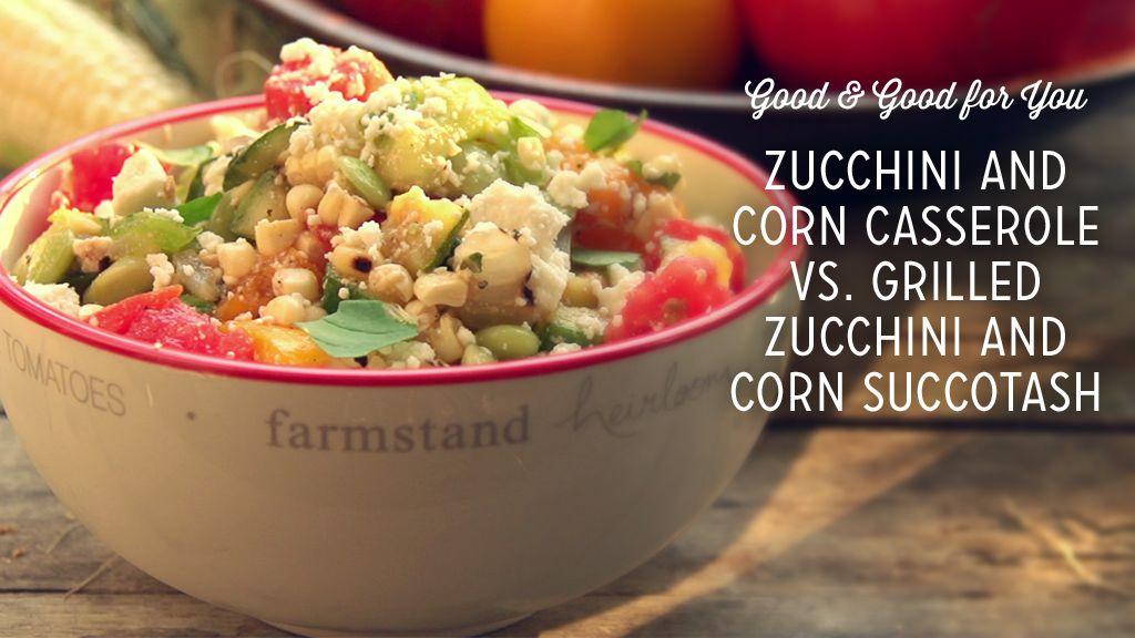 Grilled Zucchini Corn Succotash Recipe