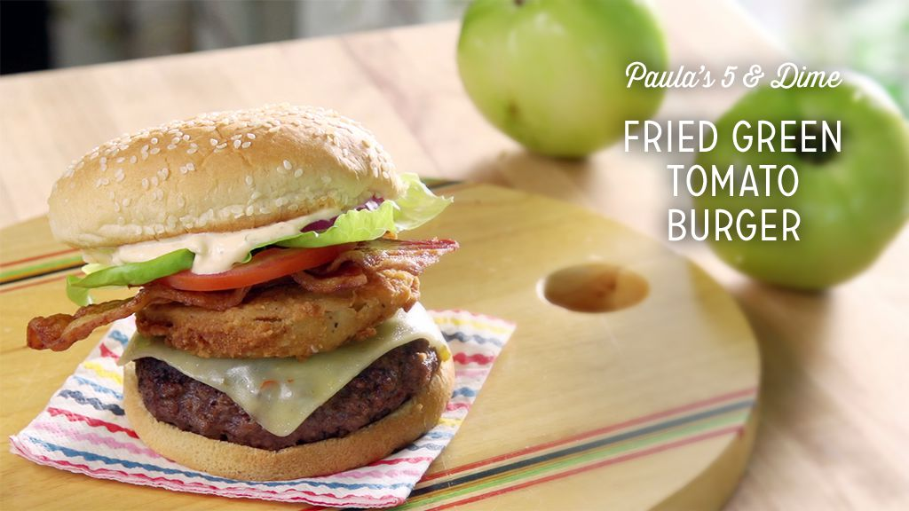 Fried Green Tomato Burger Recipe