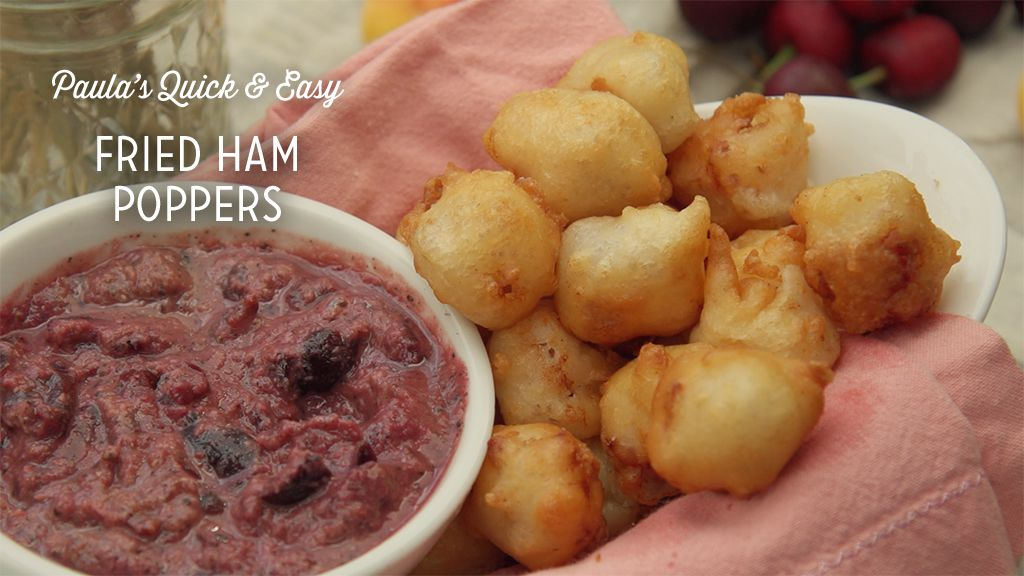 Fried Ham Poppers Recipe