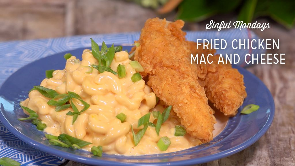 Fried Chicken Mac and Cheese Recipe