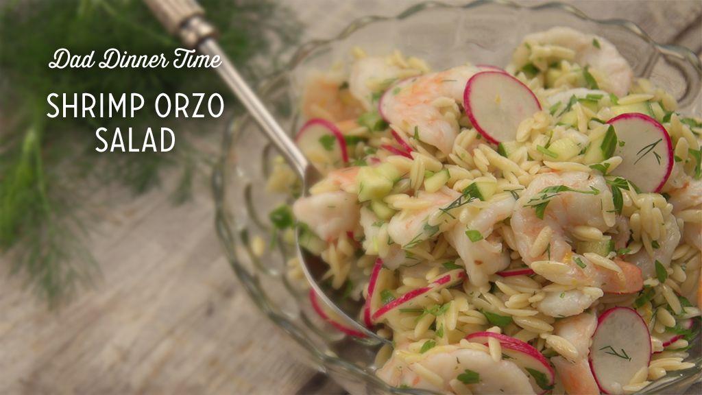 Shrimp Orzo Salad Recipe