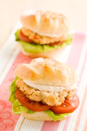Salmon Burgers Thumbnail